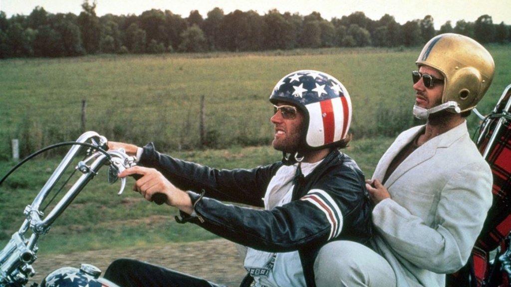 Peter Fonda en Jack Nicholson in Easy Rider