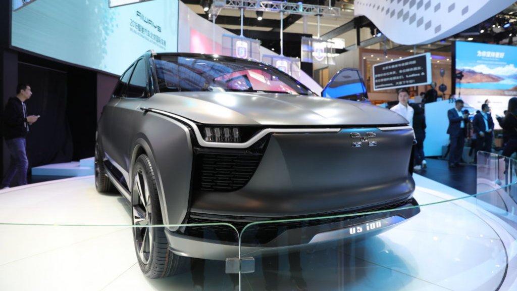 De Aiways U5 wordt volgend jaar waarschijnlijk de eerste Chinese elektrische auto in Nederland.