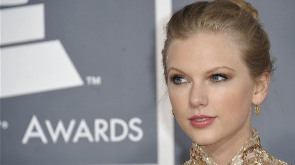 Taylor Swift in 2012.
