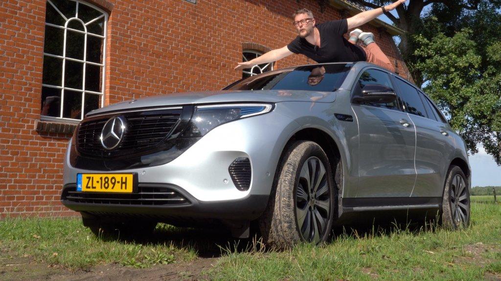 Review De Eerste Elektrische Suv Van Mercedes Rtl Nieuws