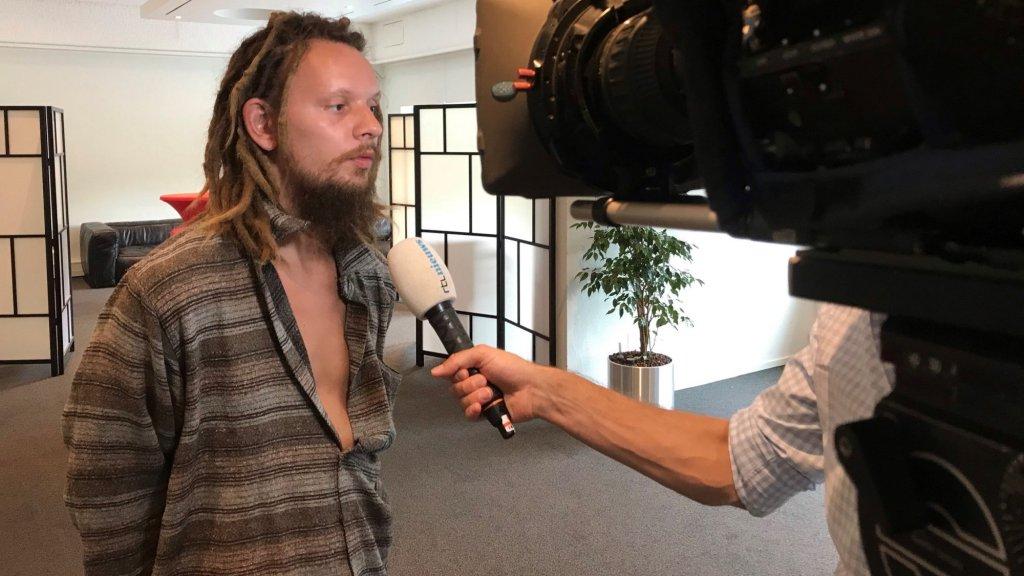 Robert-Jan Mastenbroek in gesprek met RTL Nieuws.