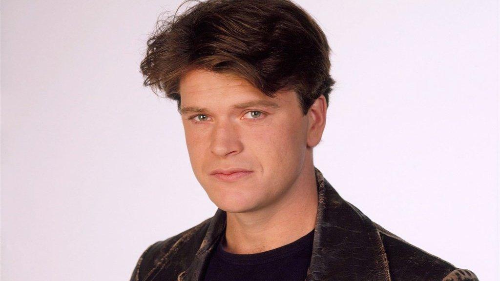 Beau aan het begin van zijn tv-carrière.