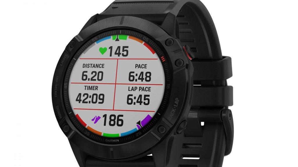 De Garmin 6X Pro Solar-smartwatch.