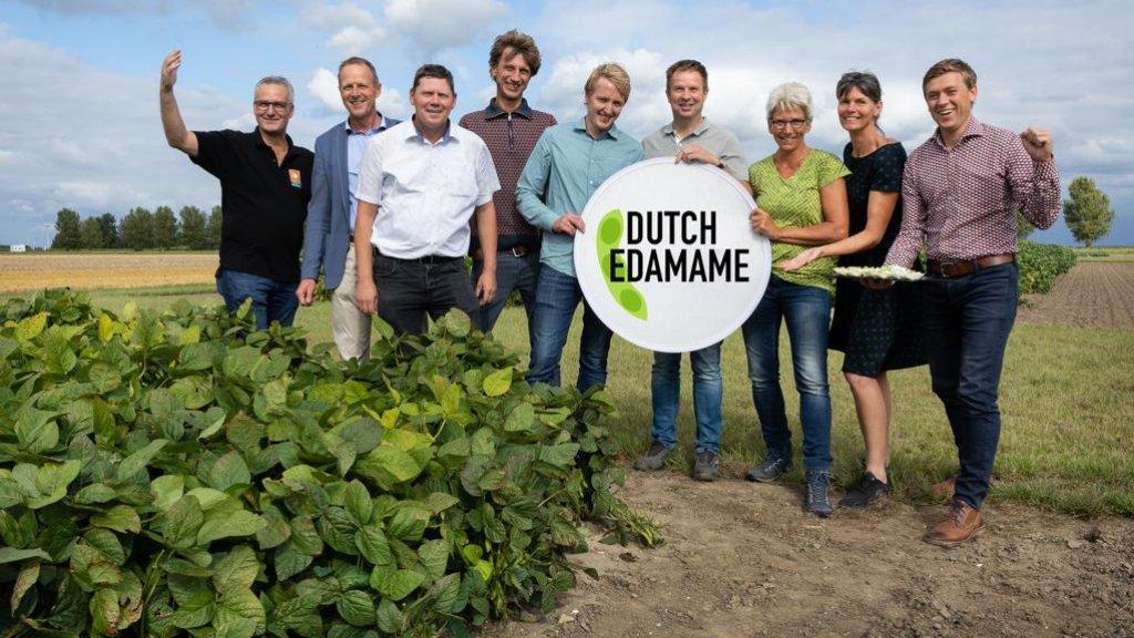 De tien Nederlandse kwekers die met het Flevolandproject meedoen.