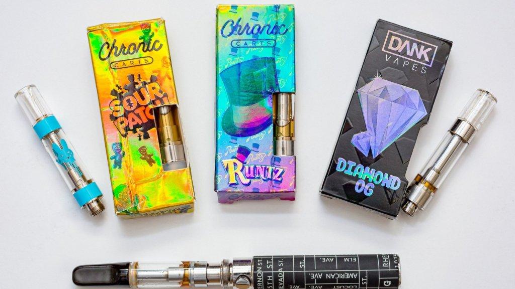 Voorbeelden van e-sigaretten die volgens de Amerikaanse overheid schadelijk kunnen zijn.