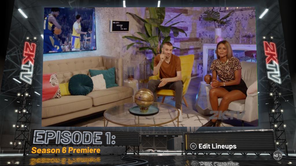 Het in-game TV programma 2KTV