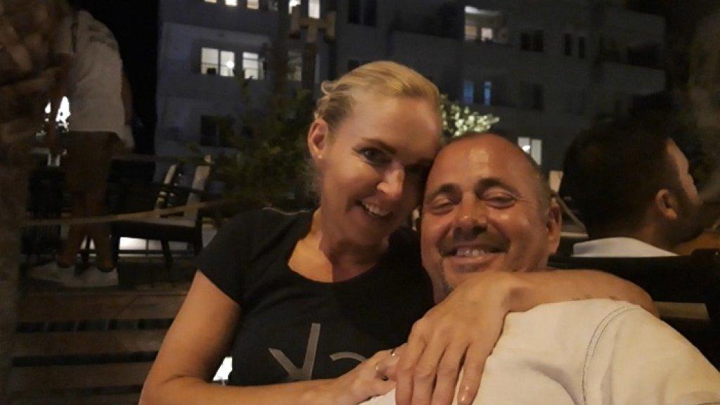 Willem met zijn vrouw.