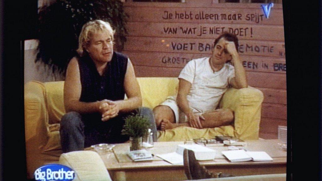 Ruud (l) en Willem in het Big Brother-huis.