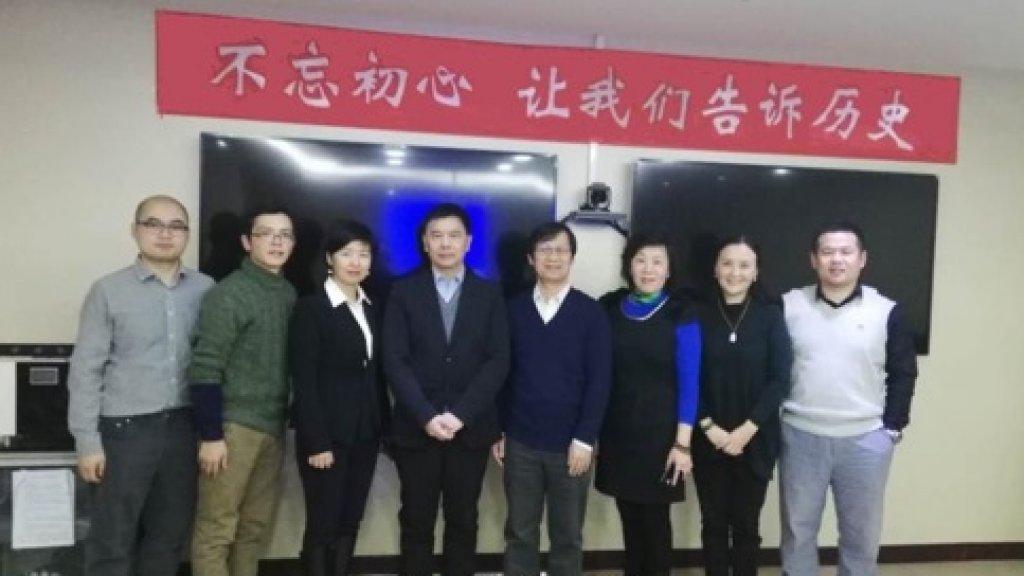 Een paar vrijwilligers uit het team van Zhisheng.