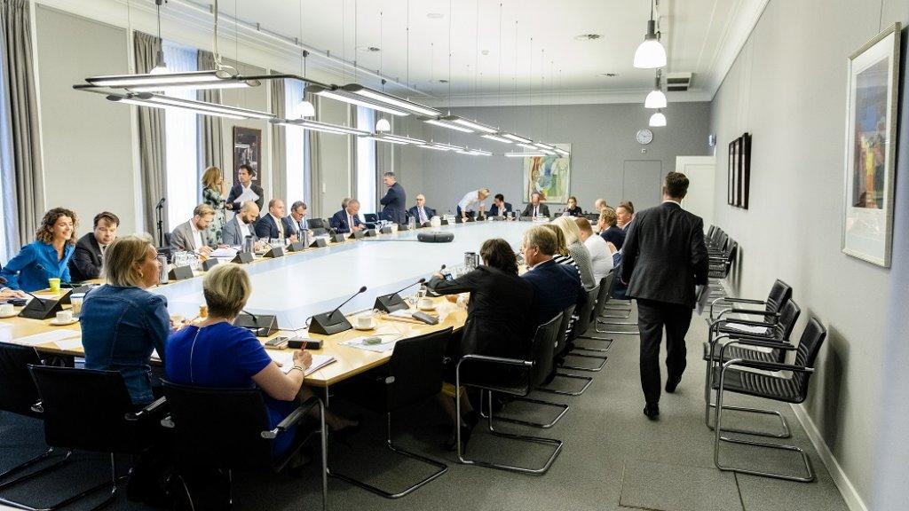De VVD-fractie kwam vandaag bijeen.
