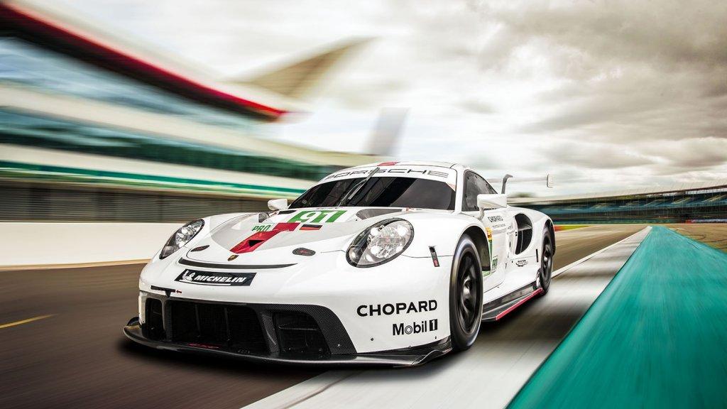 De Porsche 911 RSR