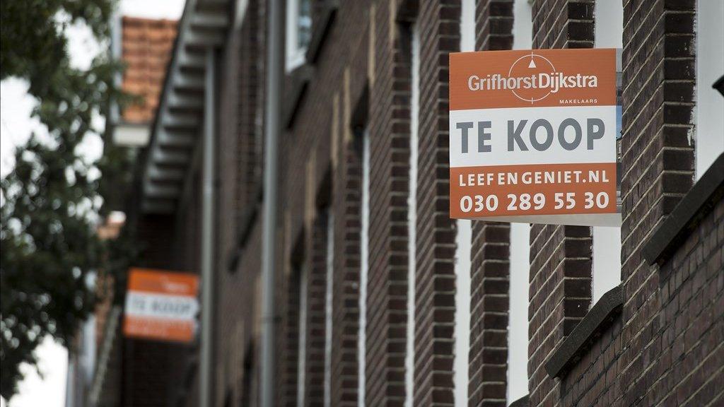 Een huis in Utrecht dat te koop stond.