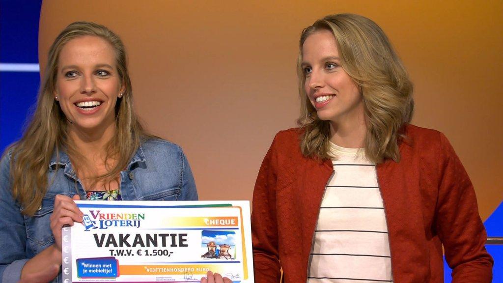 Marloes en Eefje hebben al duizenden euro's gewonnen én twee reischeques.