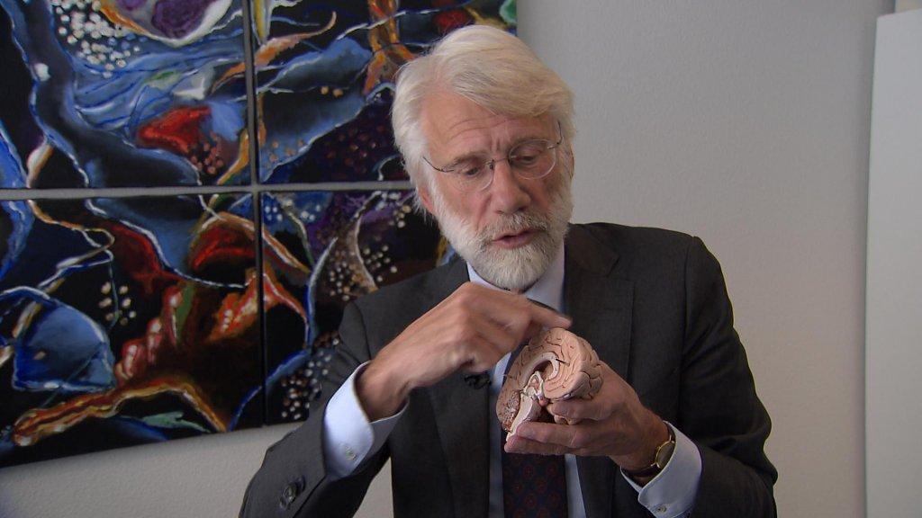 Erik Scherder legt uit hoe de hersenen in zo'n situatie werken.