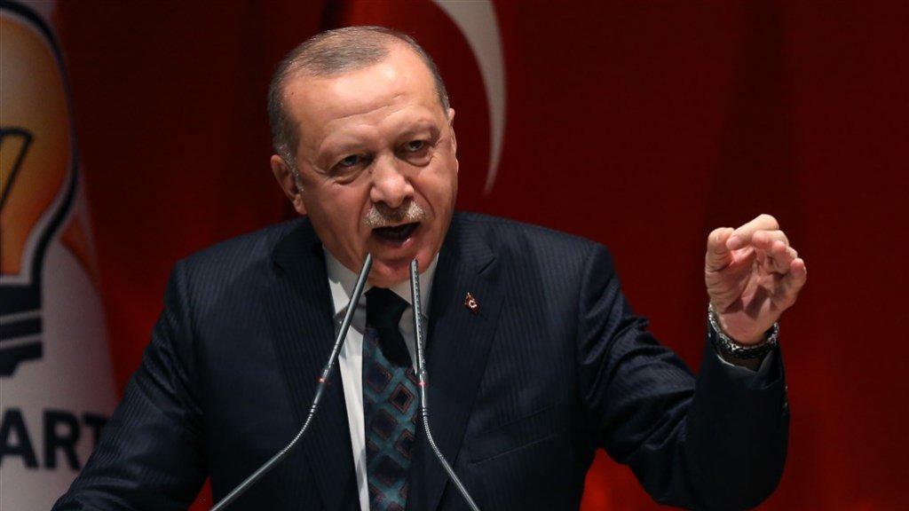 President Erdogan wil de Koerdische strijders verdrijven uit het grensgebied en er de Syrische vluchtelingen huisvesten