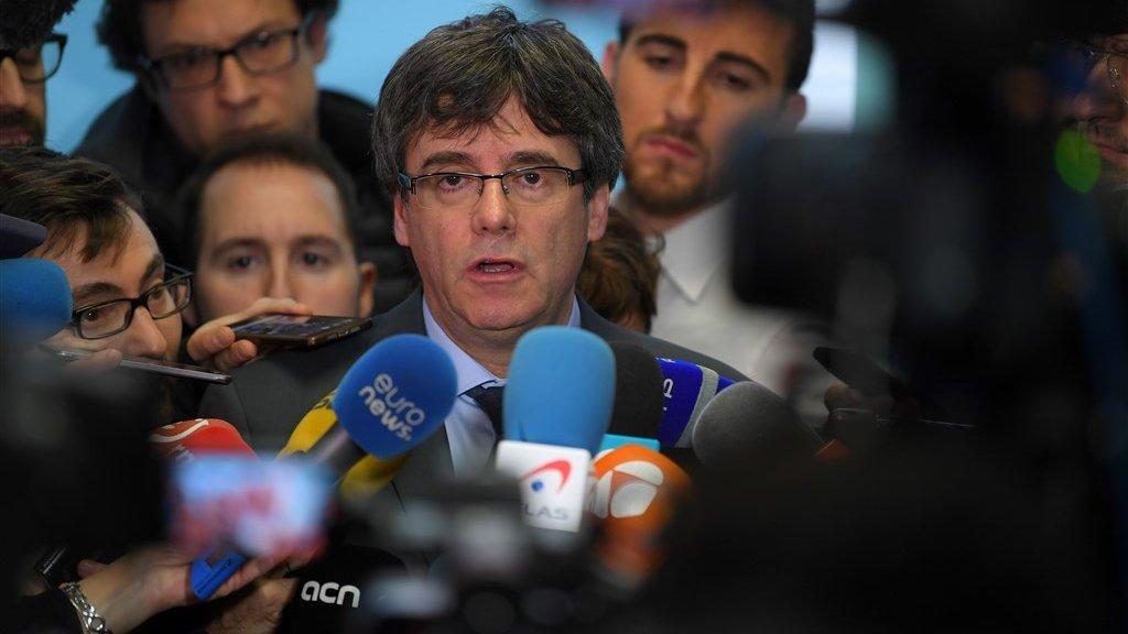 Carles Puigdemont (Archieffoto)