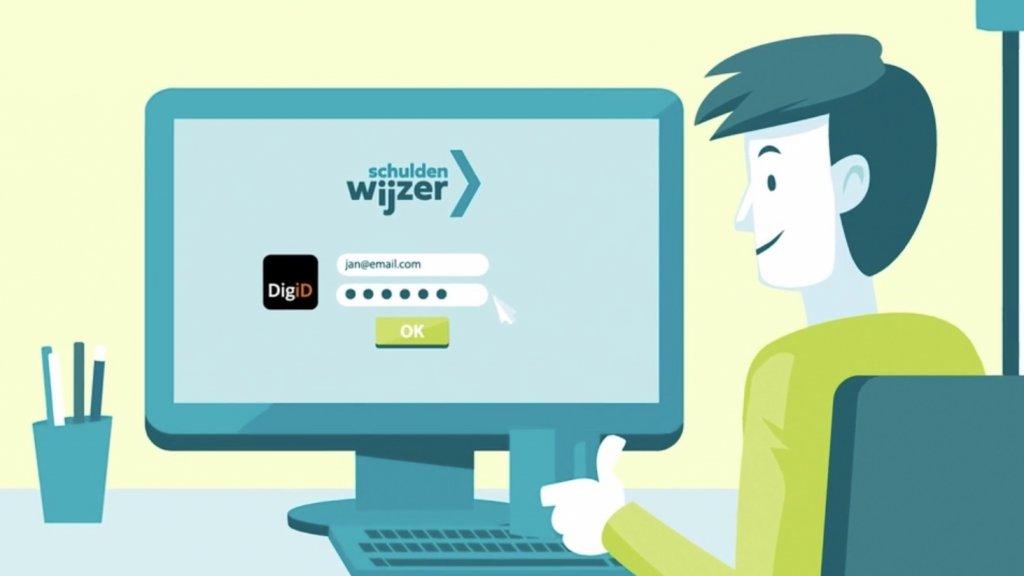 Op de website schuldenwijzer.nl krijg je in één oogopslag inzicht in alle openstaande schulden bij deurwaarders.