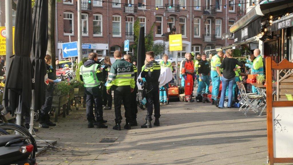 Schietpartij in Amsterdam-West: dode en zwaargewonde