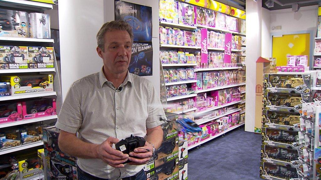 Volgens Barend Cruijff van Jase & Joy is beleving belangrijk in de speelgoedwinkel