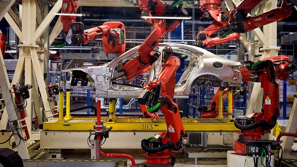Een productielijn van Fiat