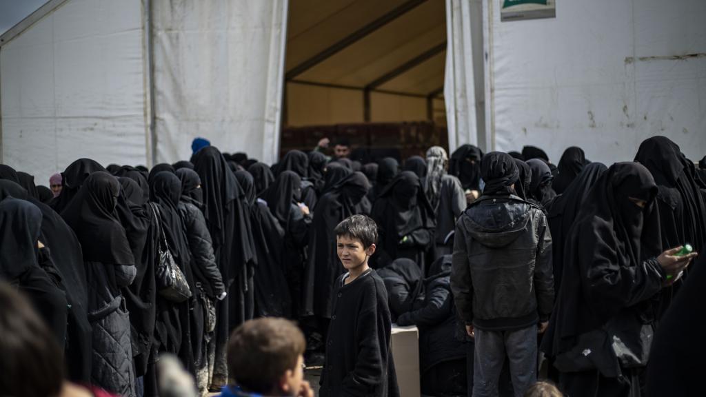 In kampen worden nog duizenden IS-vrouwen vastgehouden.