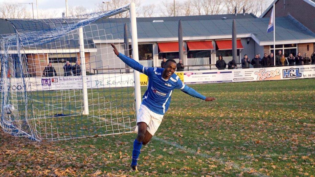 Saïd viert een goal voor Avanti'31