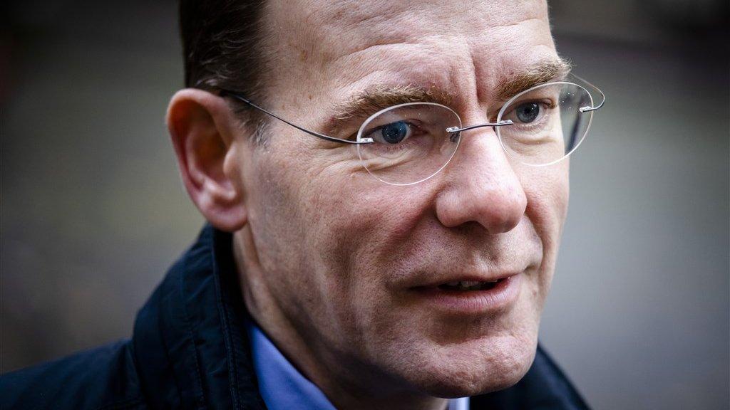 Staatssecretaris Menno Snel (D66).