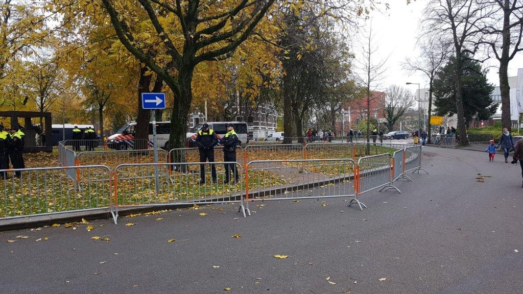 Het KOZP-demonstratievlak in Groningen is nog leeg.