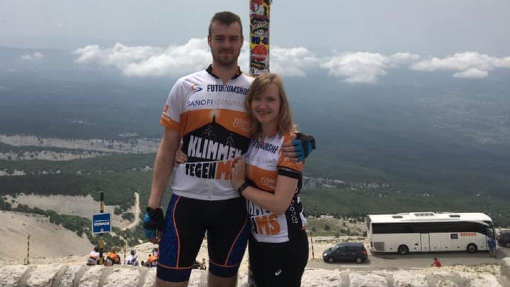 Janneke fietste vorig jaar de Mont Ventoux.