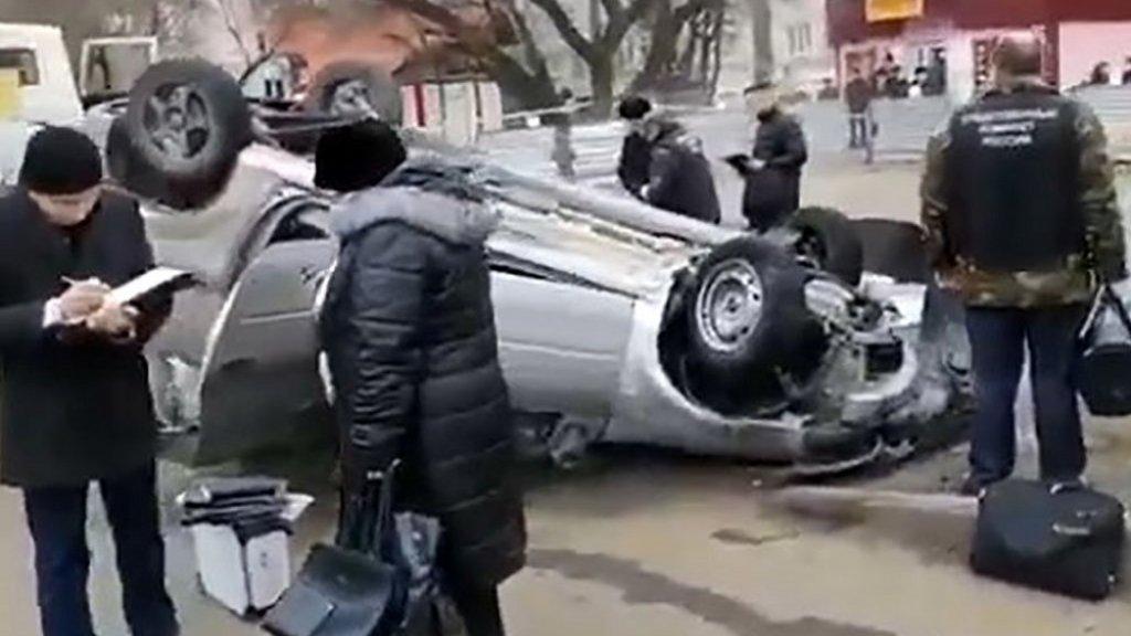Het dramatische ongeluk gebeurde in de stad Penza.