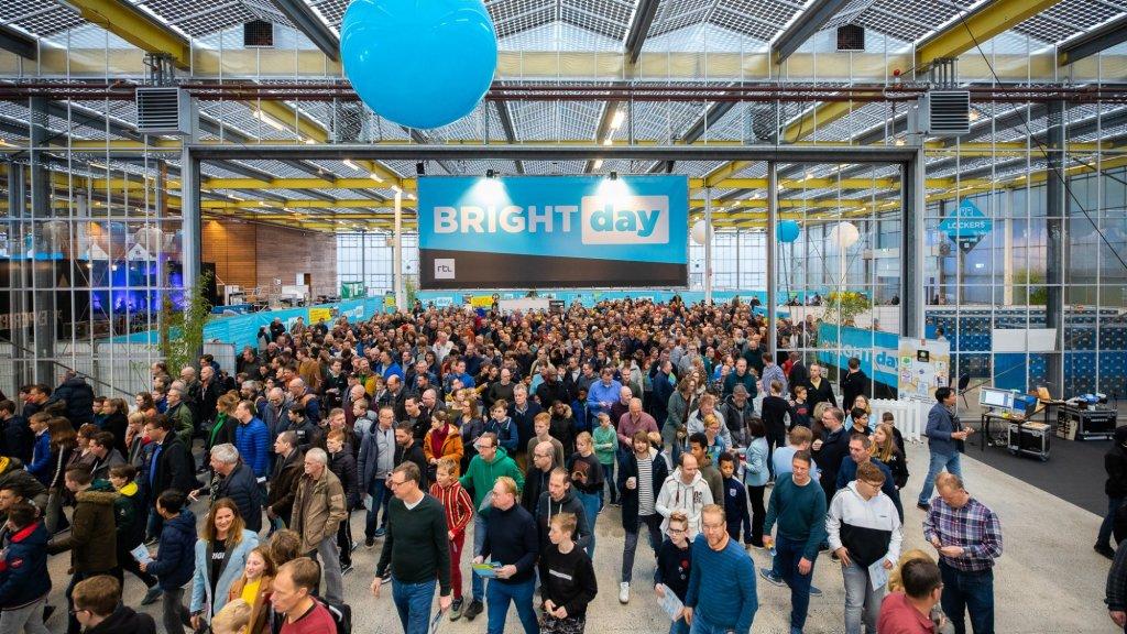 Twintigduizend mensen bezochten Bright Day
