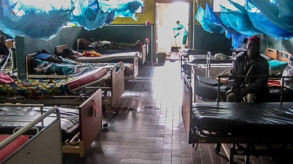 Het Masanga-ziekenhuis in Sierra Leone.