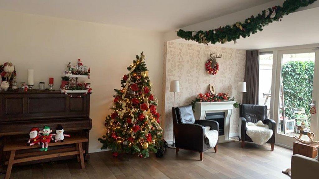 De woonkamer van Willemien.