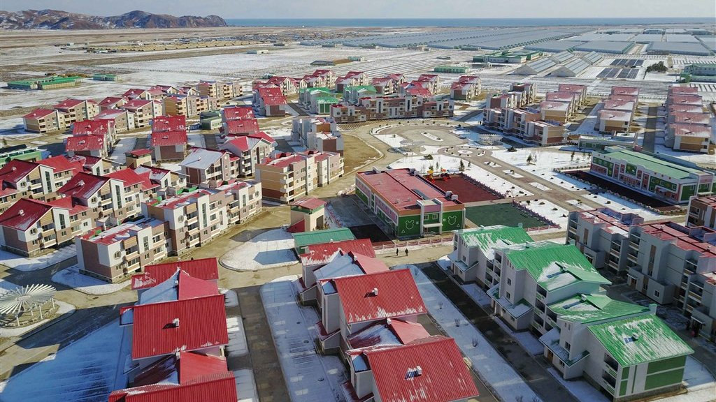 Het 'socialistische utopia', de modelstad die Kim Jong-un opende.