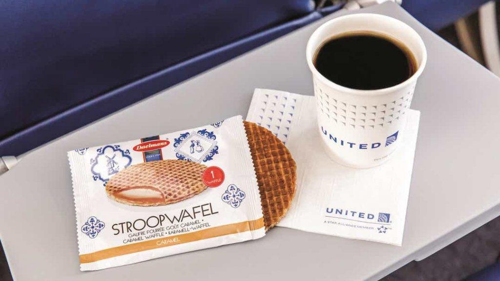 Vliegmaatschapij United Airlines verkoopt ze in de lucht.