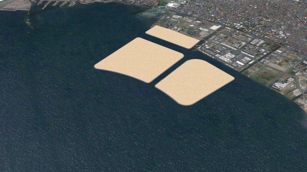 Impressie van de eilanden.