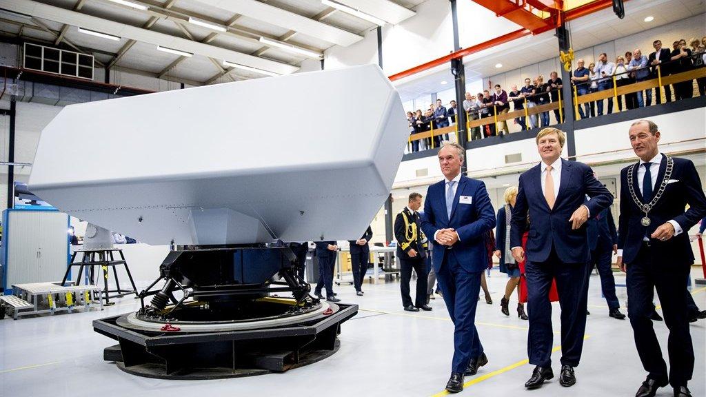 Thales in Hengelo levert onder meer radarystemen.