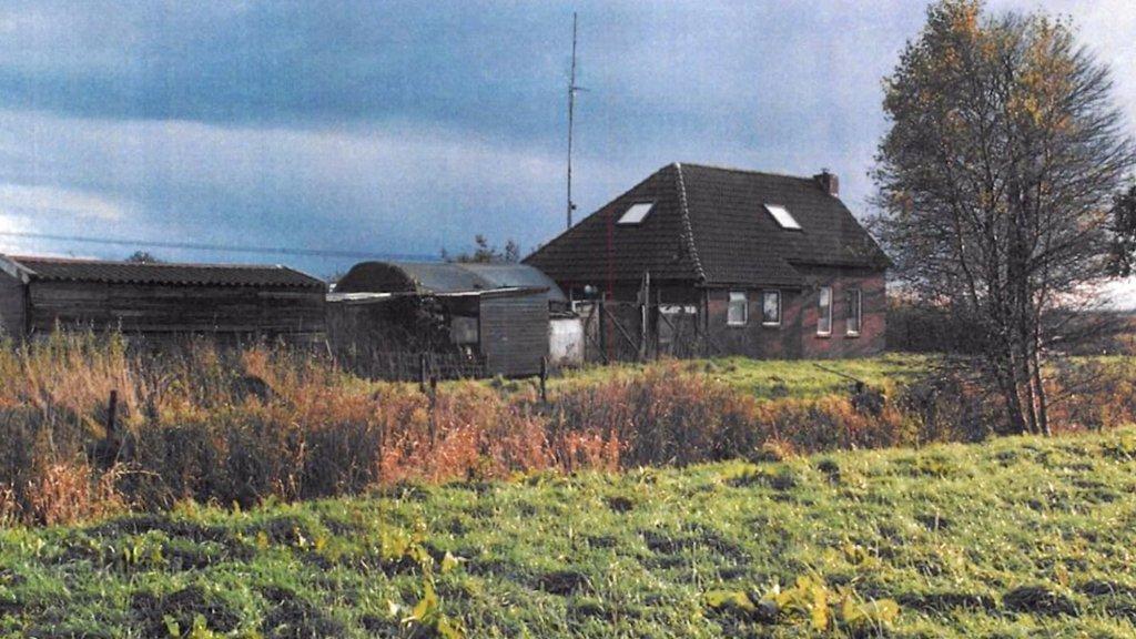 Het huis van Willem van Eijk lag afgelegen in de Groningse polder.