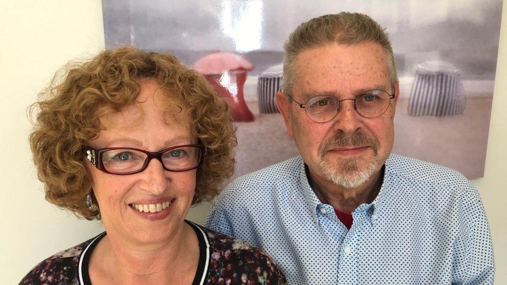 Geertje en haar echtgenoot Eef.
