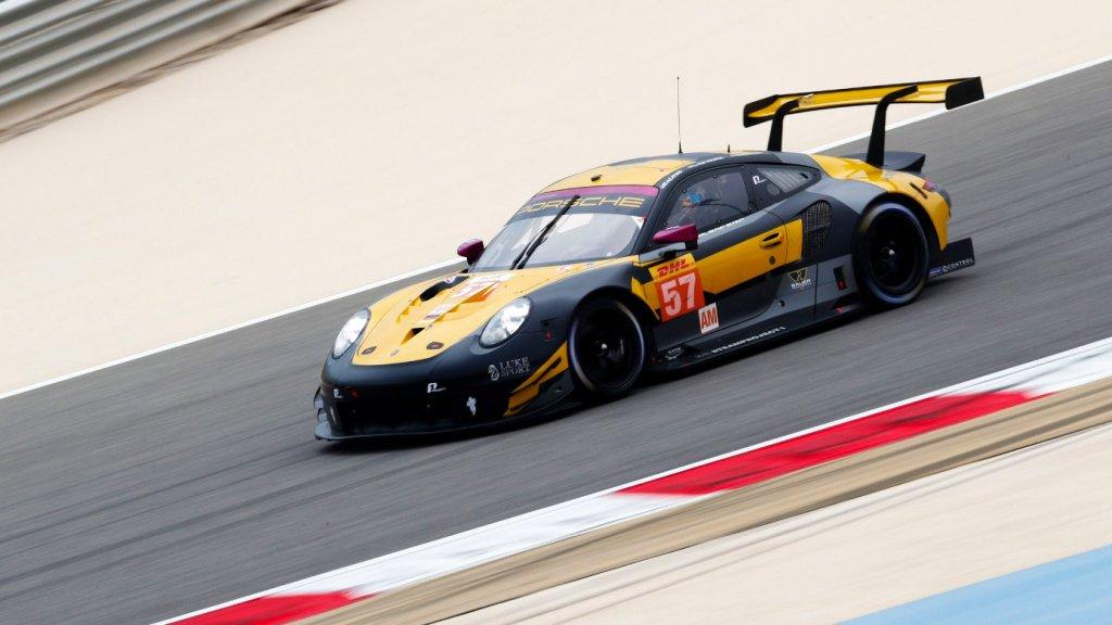 De #57 Porsche van Bleekemolen, Ten Voorde en Keating