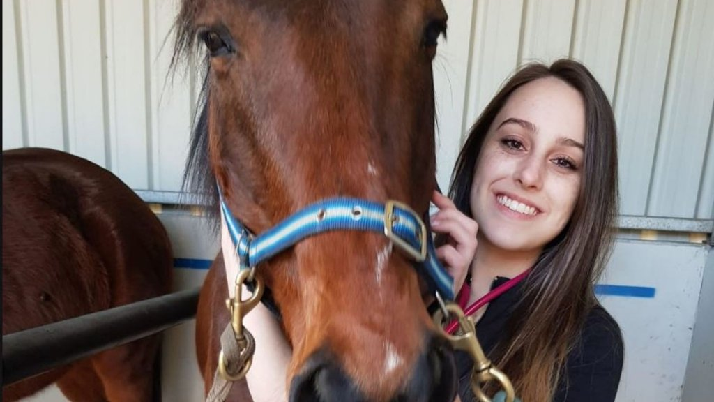Krystal (21) uit Melbourne hield van dieren.