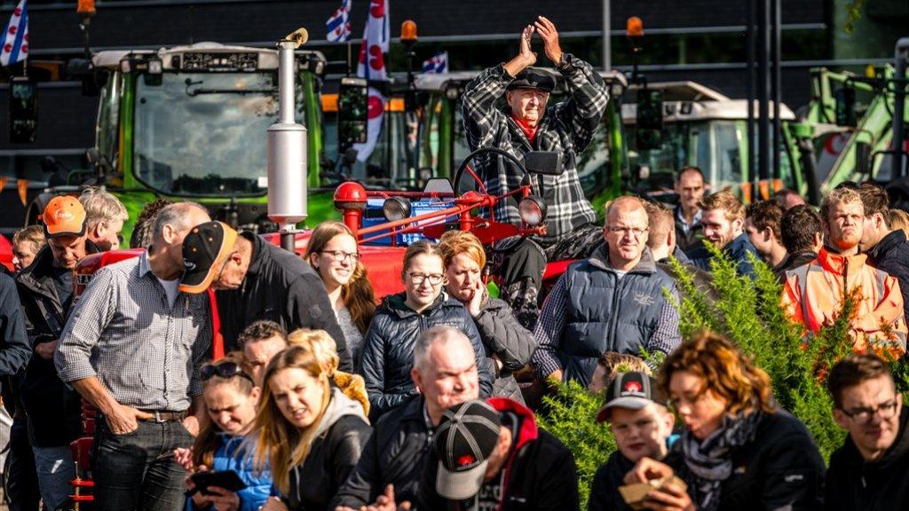 'Boze boeren willen bevoorrading supermarkten niet blokkeren'