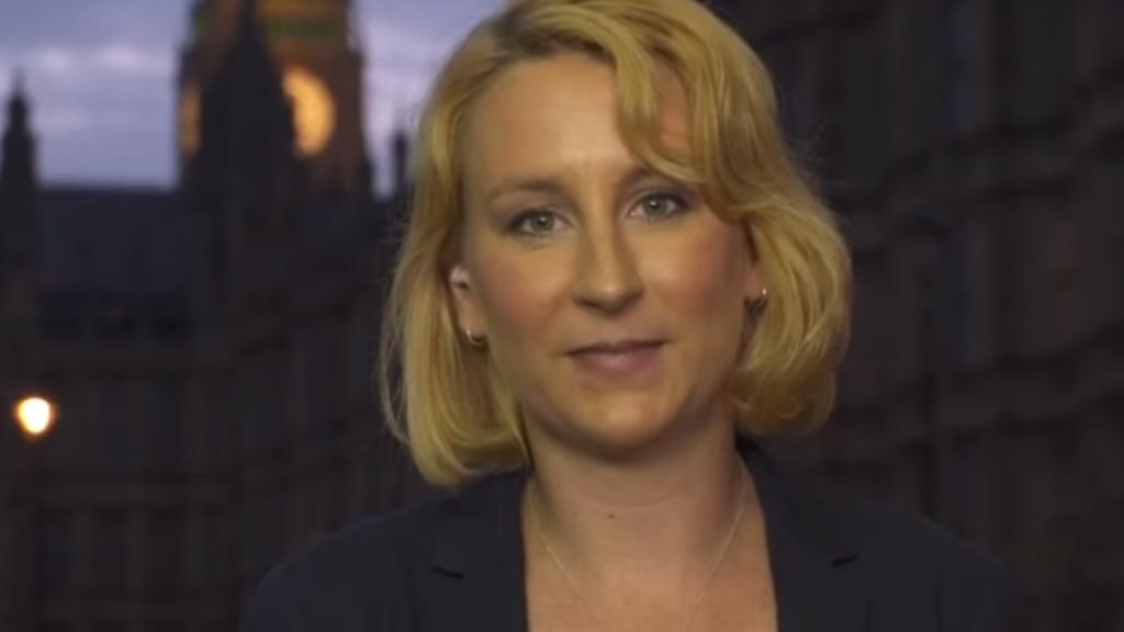 Anne Saenen in RTL Late Night op de dag voor de Brexit.
