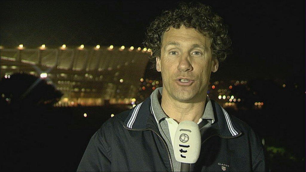 Marcel Maijer op de dag van de finale.