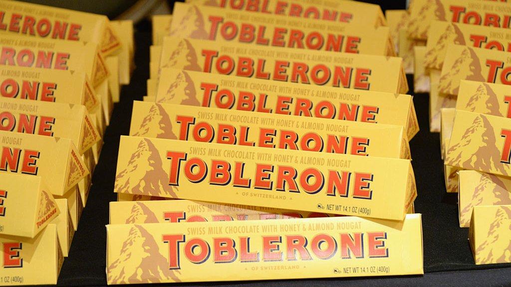 Toblerone, onderdeel van Mondolez