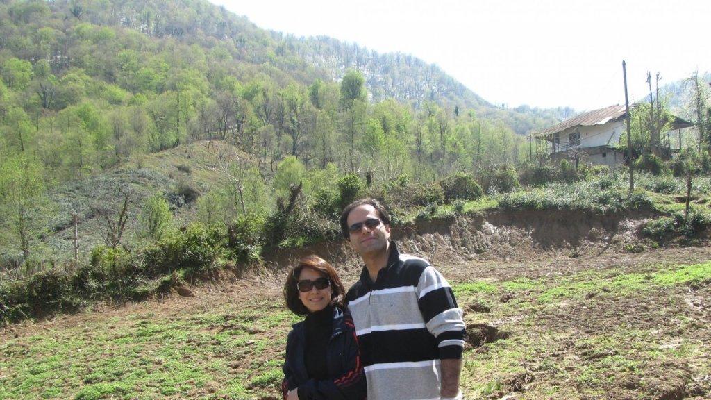Mohsen en zijn vrouw.