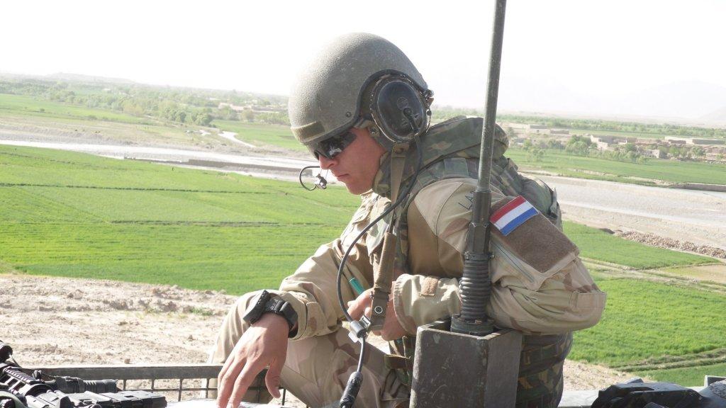 In 2010 werd Marnix uitgezonden naar Afghanistan.