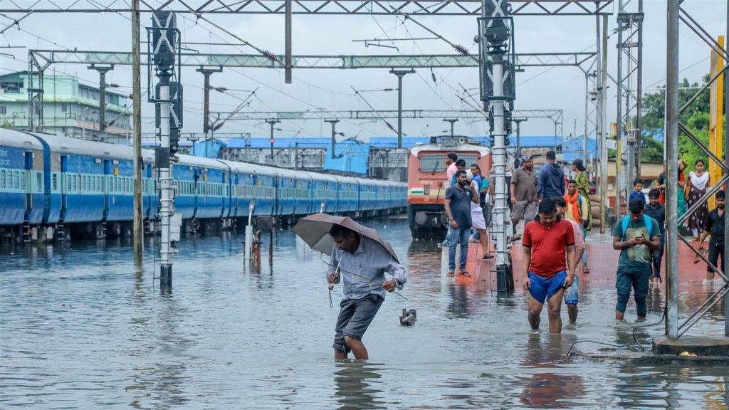 Kochi, in de deelstaat Kerala, was in oktober nog het toneel van zware overstromingen.