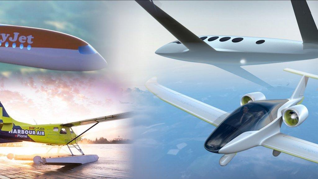 Elektrisch vliegen heeft geen toekomst