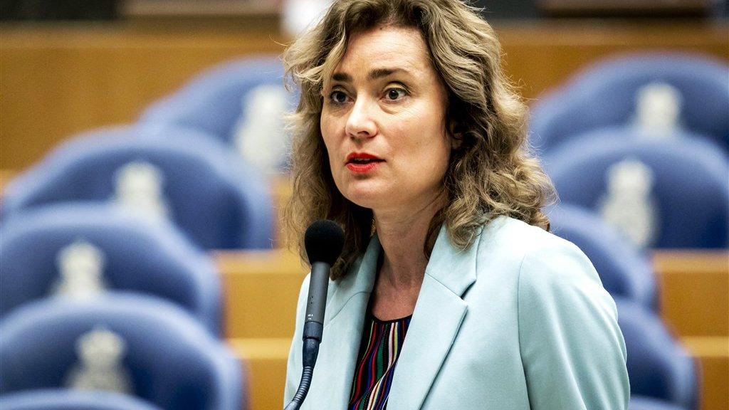 Kamerlid Vera Bergkamp (D66)